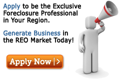 Become The Exclusive Foreclosure Professional In Your Region